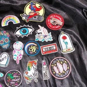 Patches Other - 27 NO SEW IRON ON PATCHES!!!!